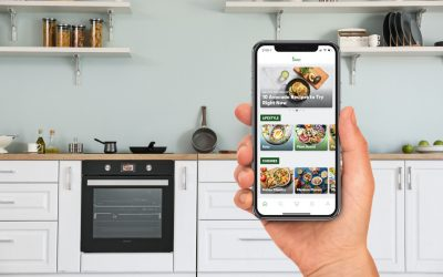 Sharp presents its intelligent Innit-connected oven